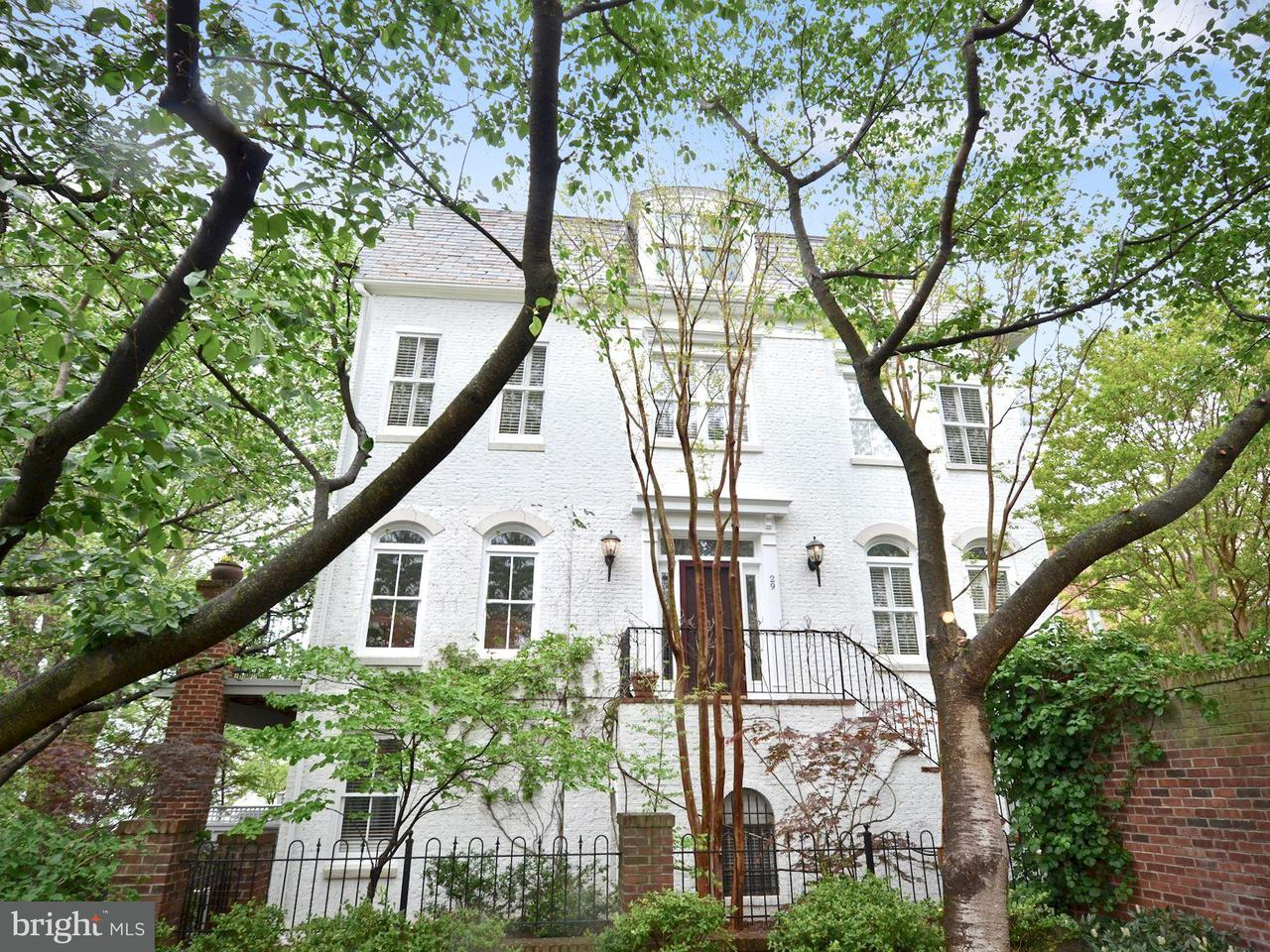 Casa unifamiliar adosada (Townhouse) por un Venta en 29 KEITHS Lane 29 KEITHS Lane Alexandria, Virginia 22314 Estados Unidos