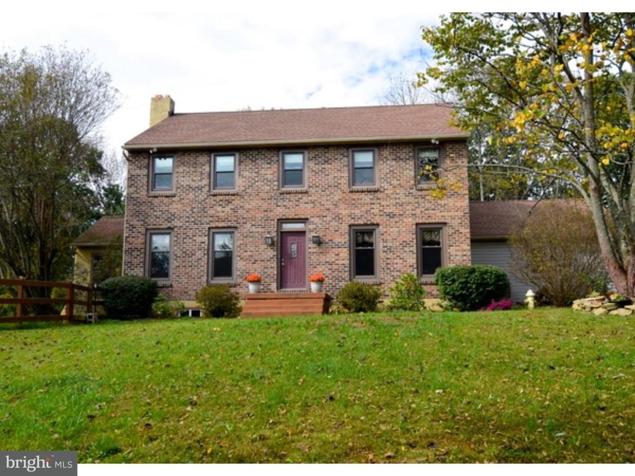 Частный односемейный дом для того Продажа на 64 MINE Road Oley, Пенсильвания 19547 Соединенные Штаты