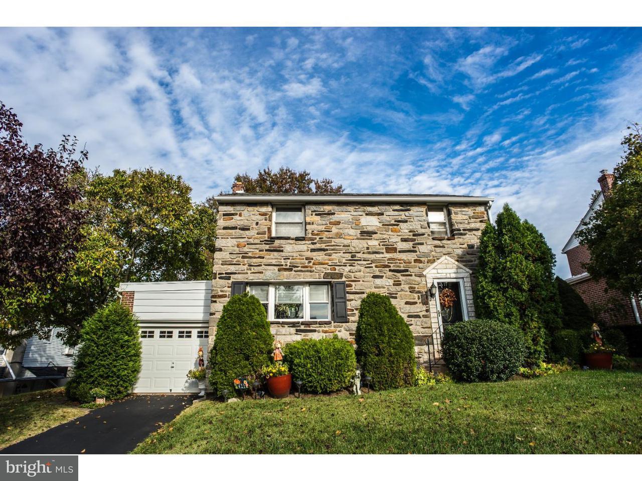 Частный односемейный дом для того Продажа на 421 BENSON Avenue Glenolden, Пенсильвания 19036 Соединенные Штаты