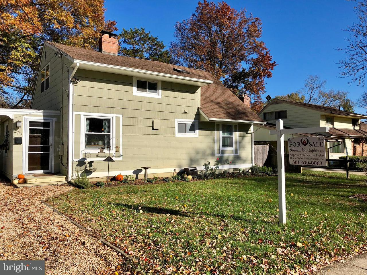 Single Family Home for Sale at 207 NIMITZ Avenue 207 NIMITZ Avenue Rockville, Maryland 20851 United States