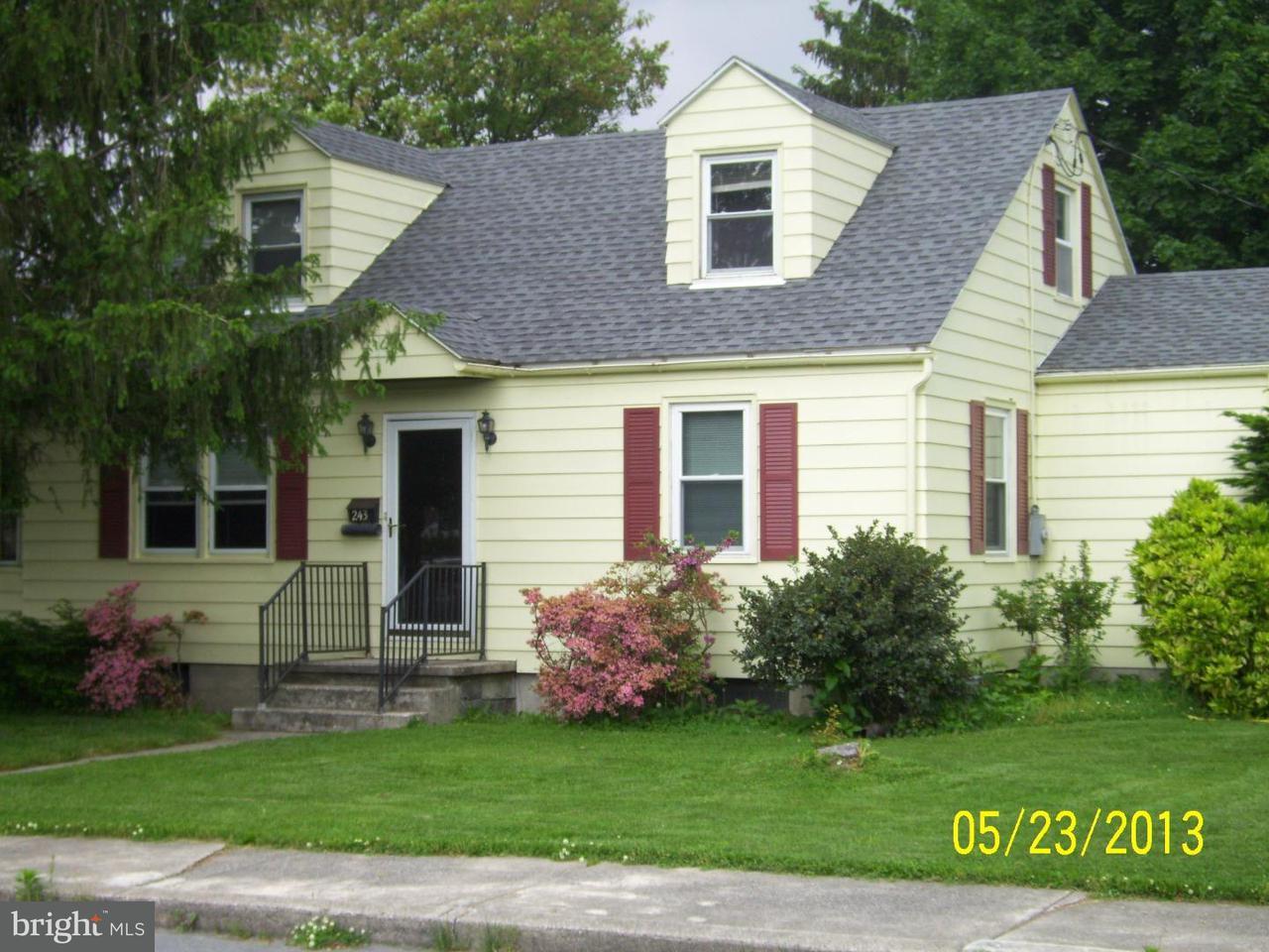 Maison unifamiliale pour l à louer à 243 W ARCH Street Fleetwood, Pennsylvanie 19522 États-Unis