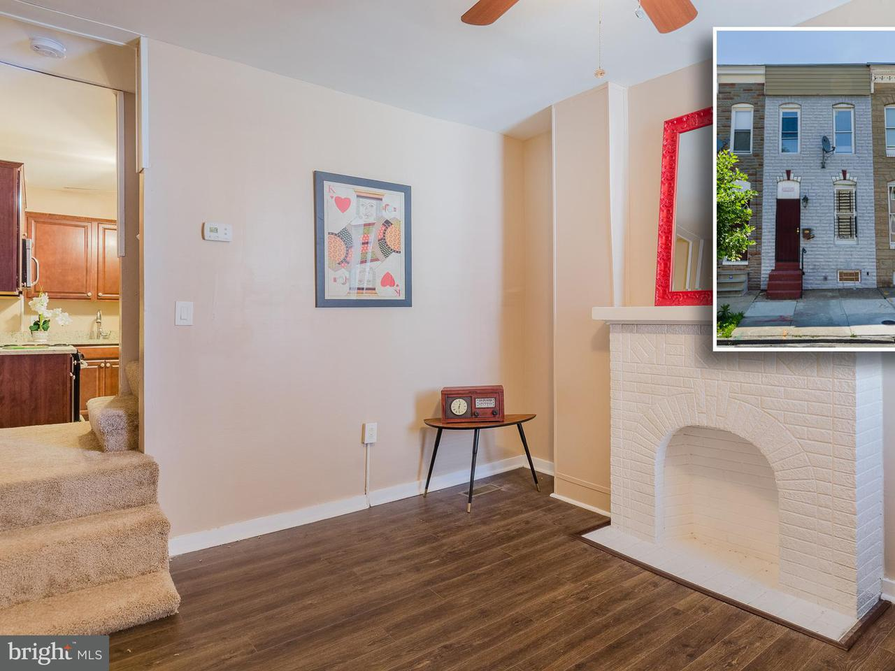 Single Family for Sale at 505 Patterson Park Ave N Baltimore, Maryland 21205 United States