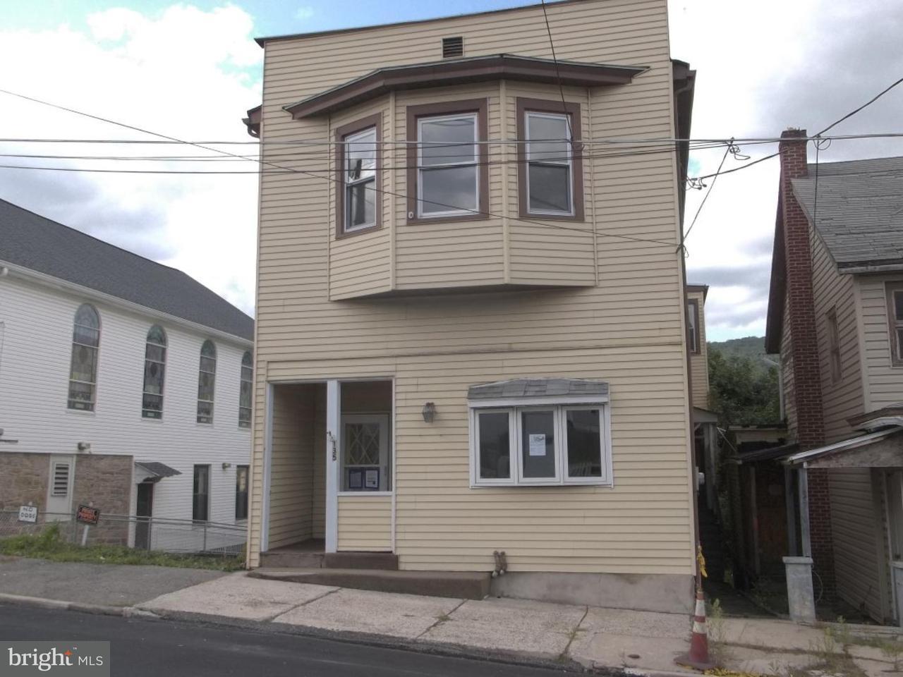 Eensgezinswoning voor Verkoop een t 135 E RUDDLE Street Coaldale, Pennsylvania 18218 Verenigde Staten
