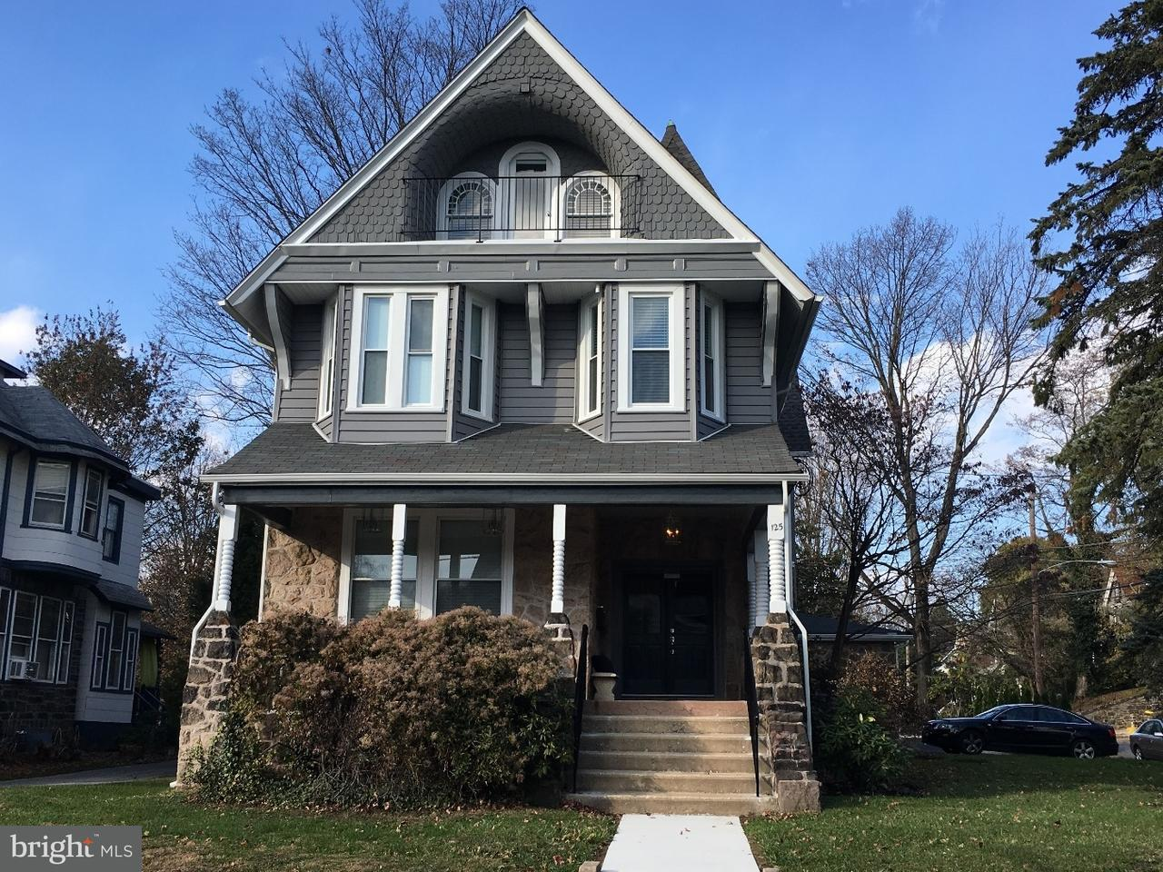 Single Family Home for Rent at 125 WINDSOR AVE #3RD FL Narberth, Pennsylvania 19072 United States