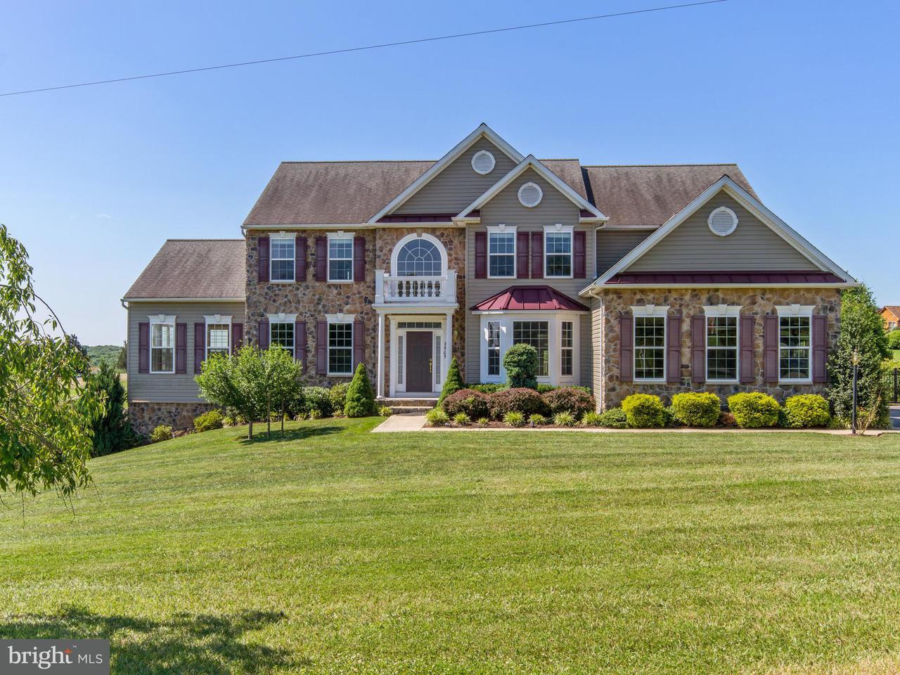 Maison unifamiliale pour l Vente à 2505 BOLLINGER MILL Road 2505 BOLLINGER MILL Road Finksburg, Maryland 21048 États-Unis