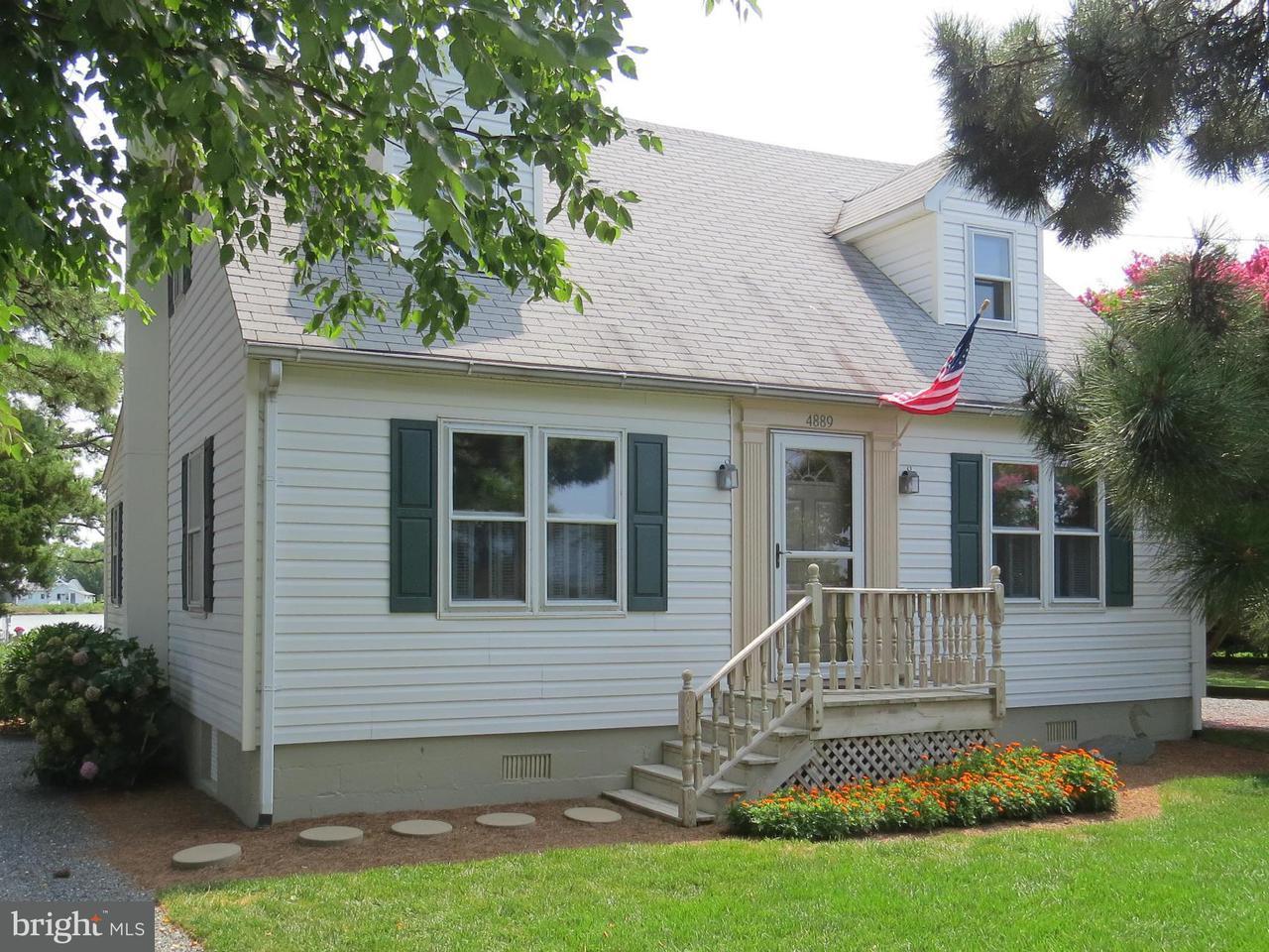 獨棟家庭住宅 為 出售 在 4889 Black Walnut Point Road 4889 Black Walnut Point Road Tilghman, 馬里蘭州 21671 美國