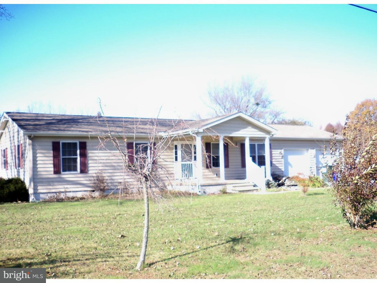 Single Family Home for Sale at 555 HAZLETTVILLE Road Hartly, Delaware 19953 United States