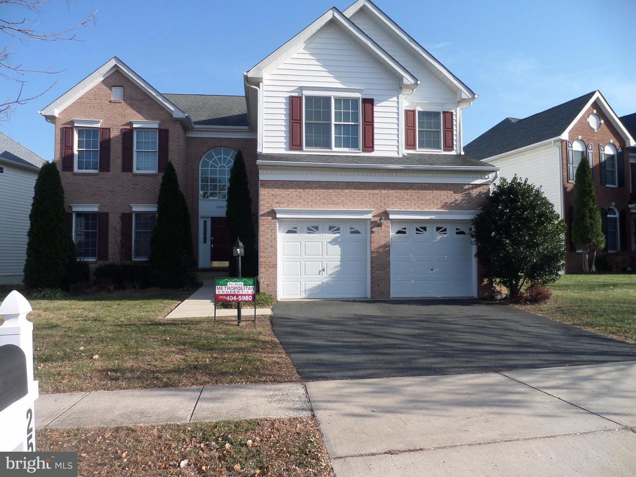 Maison unifamiliale pour l Vente à 25413 CARRINGTON Drive 25413 CARRINGTON Drive South Riding, Virginia 20152 États-Unis