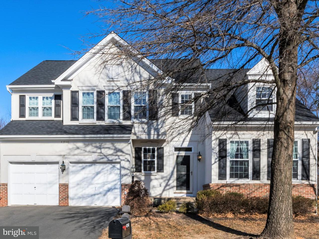 Single Family Home for Sale at 42940 Ellzey Drive 42940 Ellzey Drive Broadlands, Virginia 20148 United States