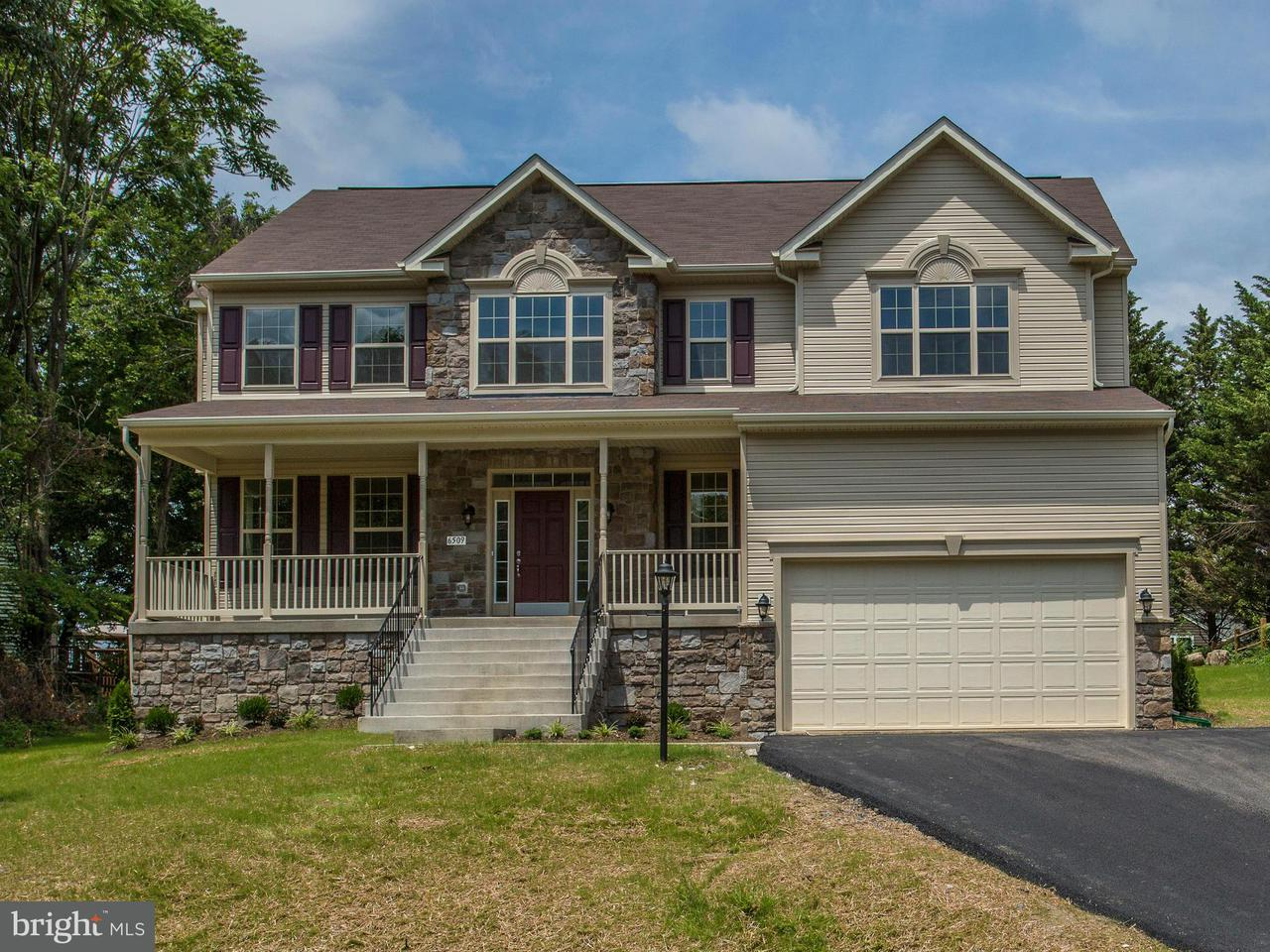 Casa Unifamiliar por un Venta en 6415 LAKERIDGE Drive 6415 LAKERIDGE Drive New Market, Maryland 21774 Estados Unidos