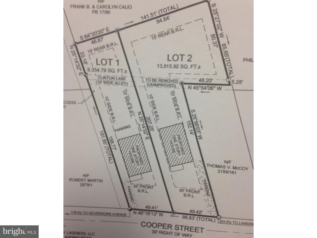 独户住宅 为 销售 在 539 COOPER Street 法格尔, 特拉华州 19956 美国