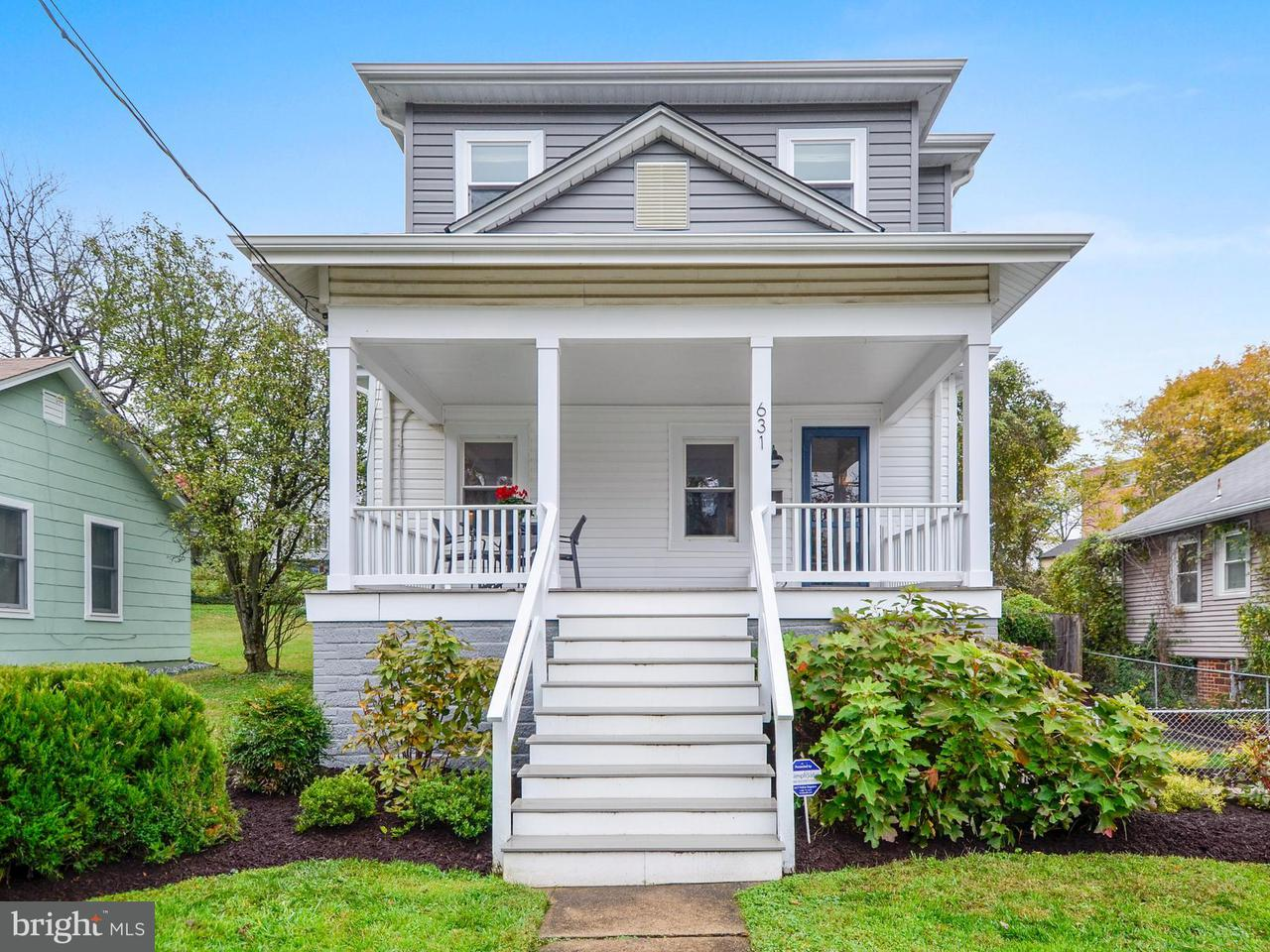 Single Family Home for Sale at 631 MISSISSIPPI Avenue 631 MISSISSIPPI Avenue Silver Spring, Maryland 20910 United States