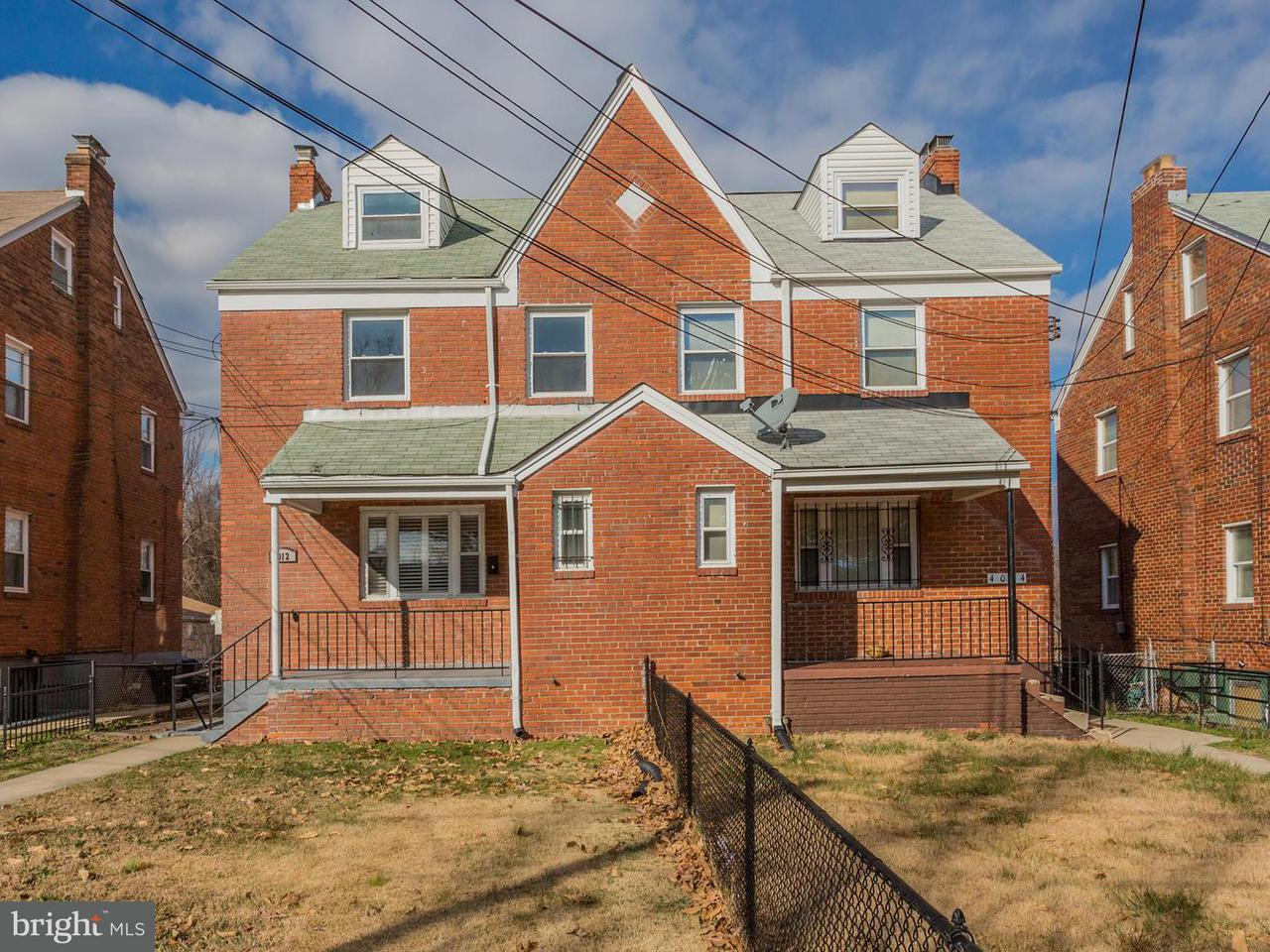 Single Family for Sale at 4012 Alabama Ave SE Washington, District Of Columbia 20020 United States