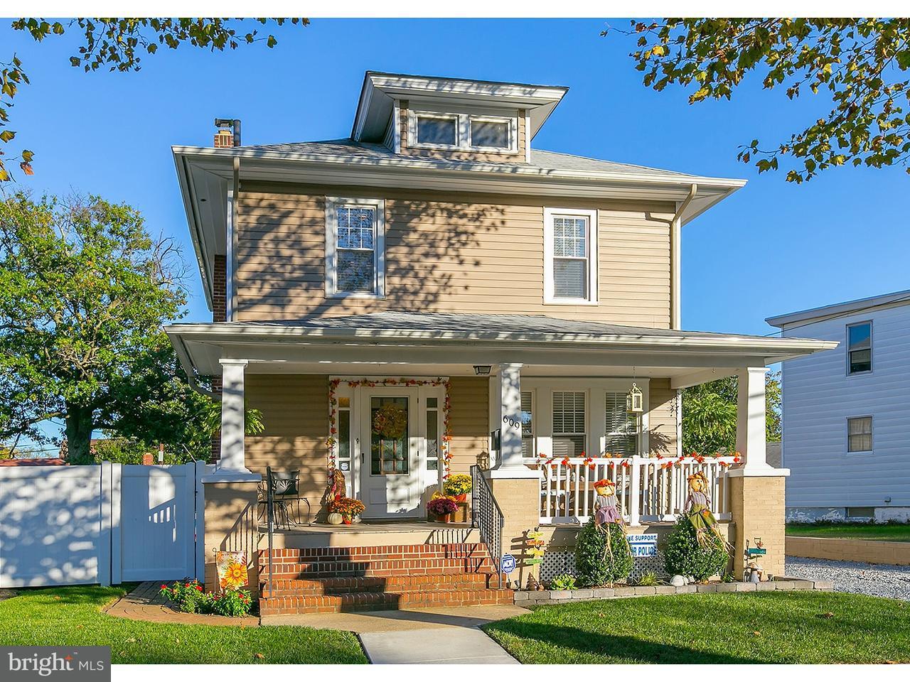 Частный односемейный дом для того Продажа на 609 NASSAU Avenue Paulsboro, Нью-Джерси 08066 Соединенные Штаты