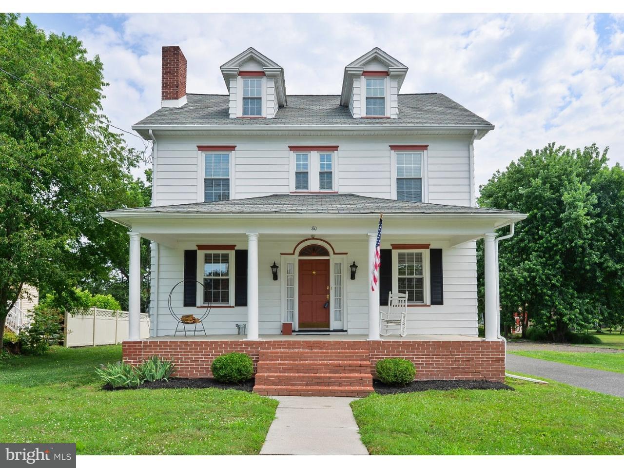Maison unifamiliale pour l Vente à 80 E MAIN Street Marlton, New Jersey 08053 États-Unis