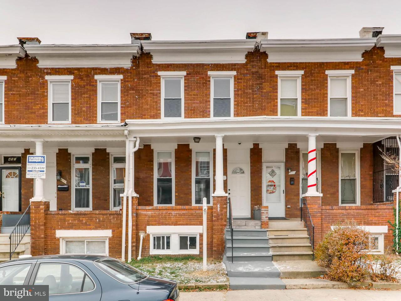 Single Family for Sale at 447 Ilchester Ave Baltimore, Maryland 21218 United States