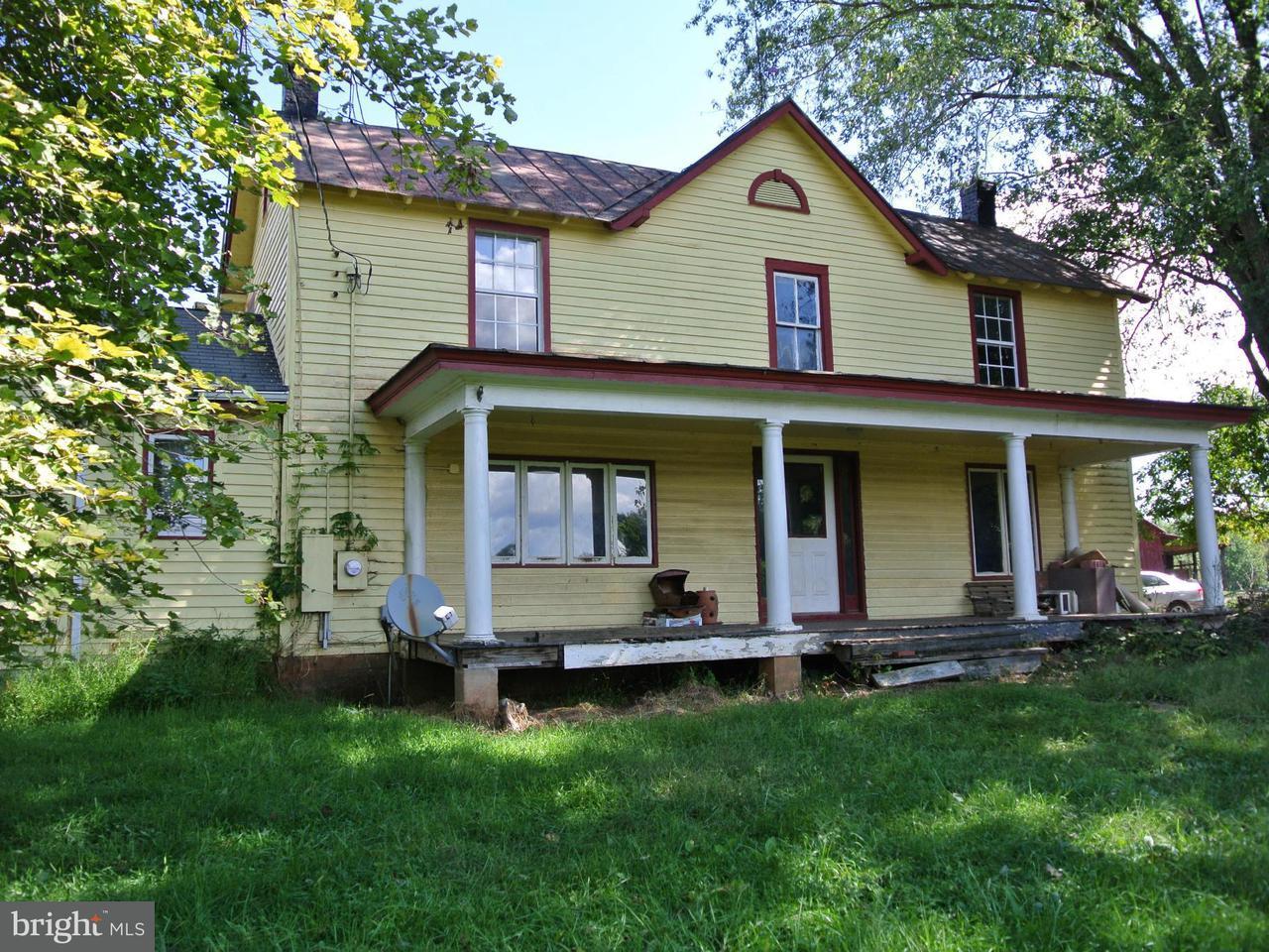Farm for Sale at 111 Dennis Road Castleton, Virginia 22716 United States