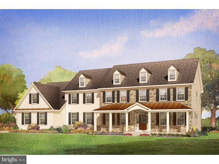 Maison unifamiliale pour l Vente à 1625 WHITE OAK Road Perkasie, Pennsylvanie 18944 États-Unis