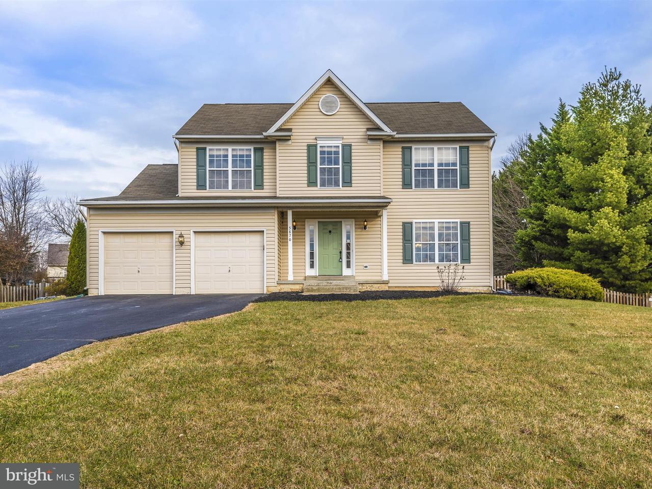 Частный односемейный дом для того Продажа на 5870 UNION RIDGE Drive 5870 UNION RIDGE Drive Adamstown, Мэриленд 21710 Соединенные Штаты