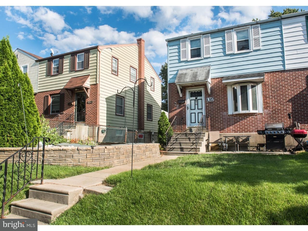 Maison accolée pour l Vente à 1317 WOODLAND Avenue Sharon Hill, Pennsylvanie 19079 États-Unis