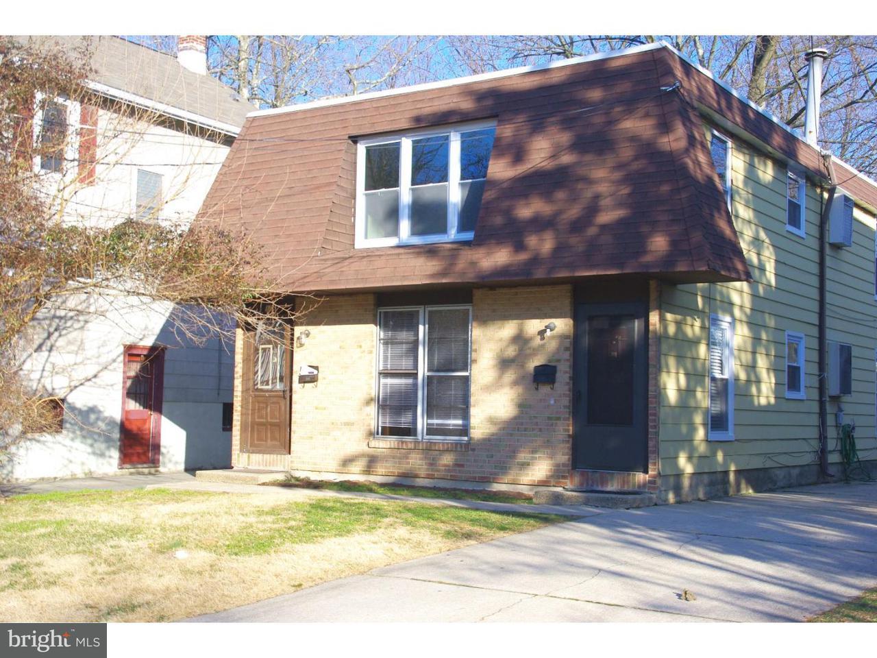Casa unifamiliar adosada (Townhouse) por un Alquiler en 12 W WAYNE TER Collingswood, Nueva Jersey 08108 Estados Unidos