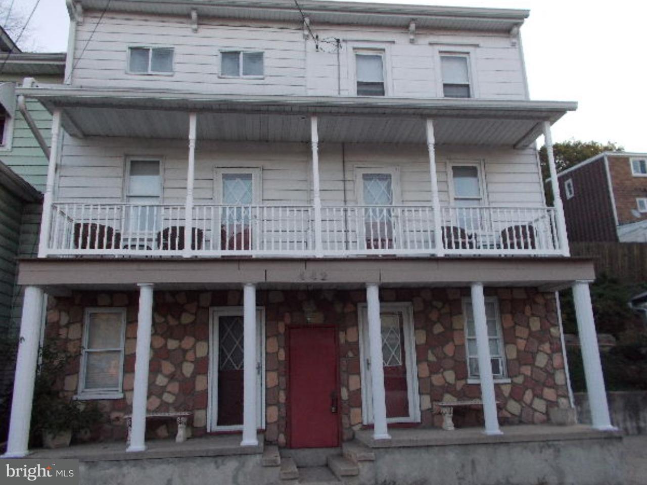 Частный односемейный дом для того Продажа на 442 NEW CASTLE Street Minersville, Пенсильвания 17954 Соединенные Штаты