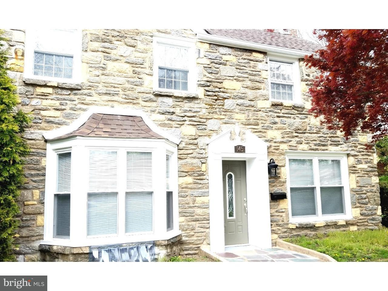 Single Family Home for Sale at 145 KINGSTON Road Cheltenham, Pennsylvania 19012 United States