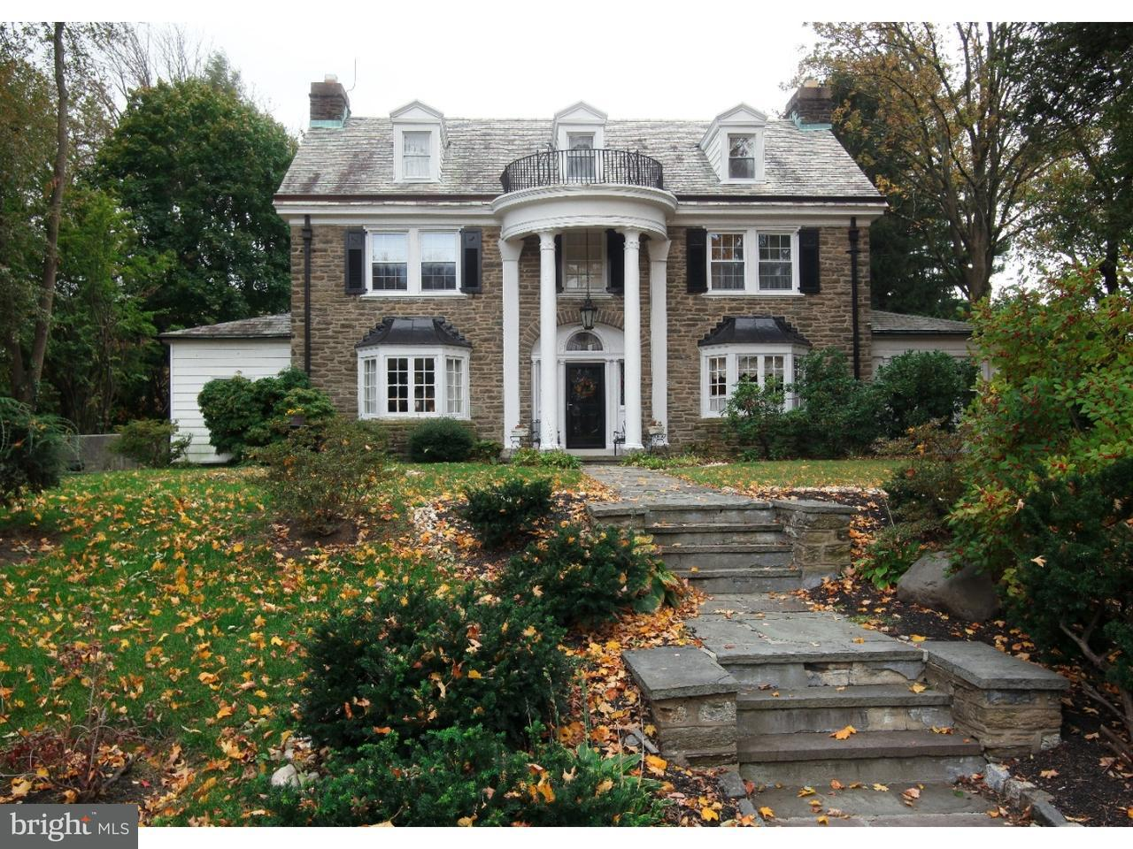 Single Family Home for Sale at 34 LATHAM PARK Elkins Park, Pennsylvania 19027 United States