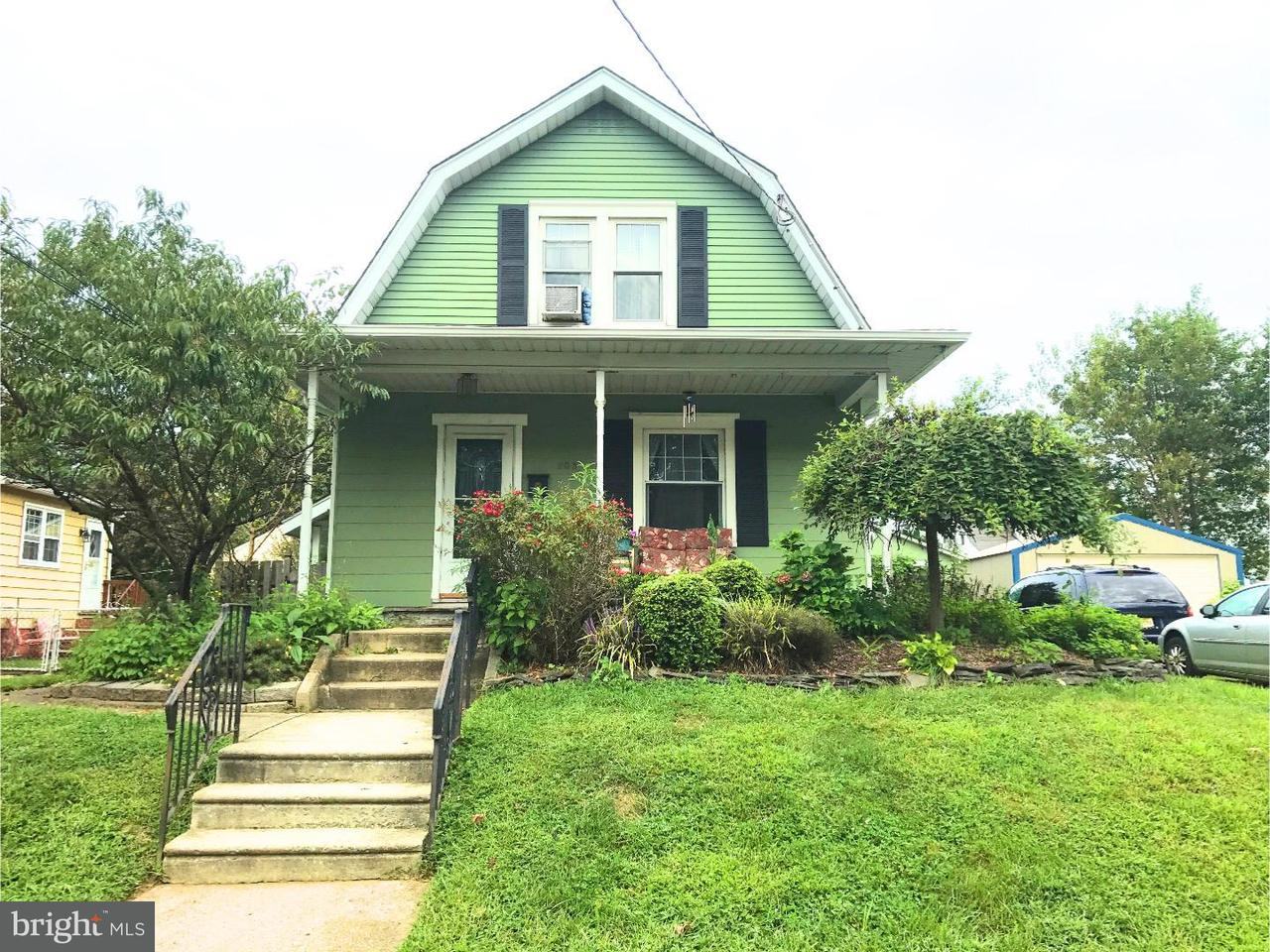 Частный односемейный дом для того Аренда на 203 E COLLINGSWOOD Avenue Haddon Township, Нью-Джерси 08107 Соединенные Штаты