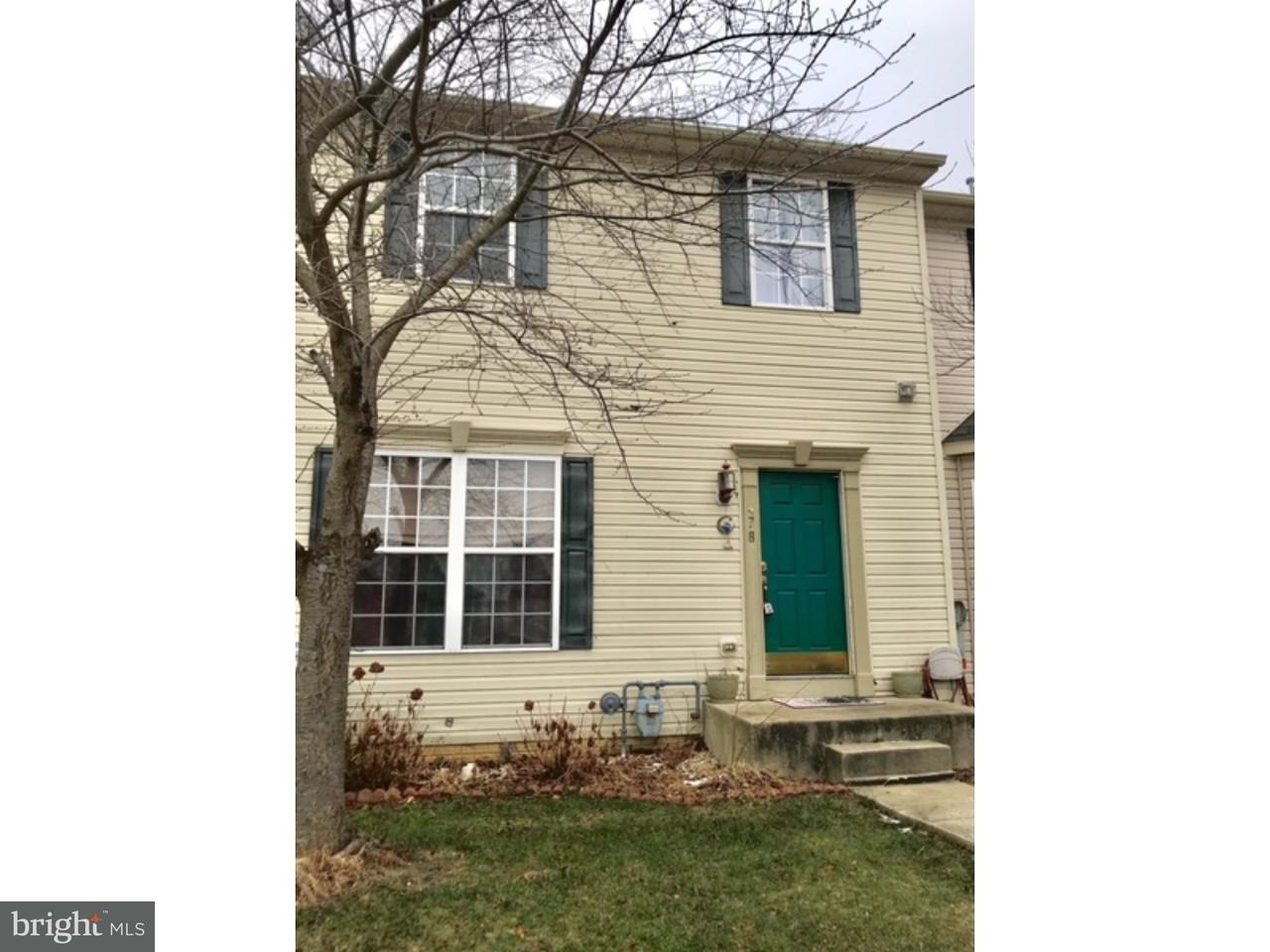 Maison accolée pour l à louer à 478 SEQUOIA Drive Smyrna, Delaware 19977 États-Unis