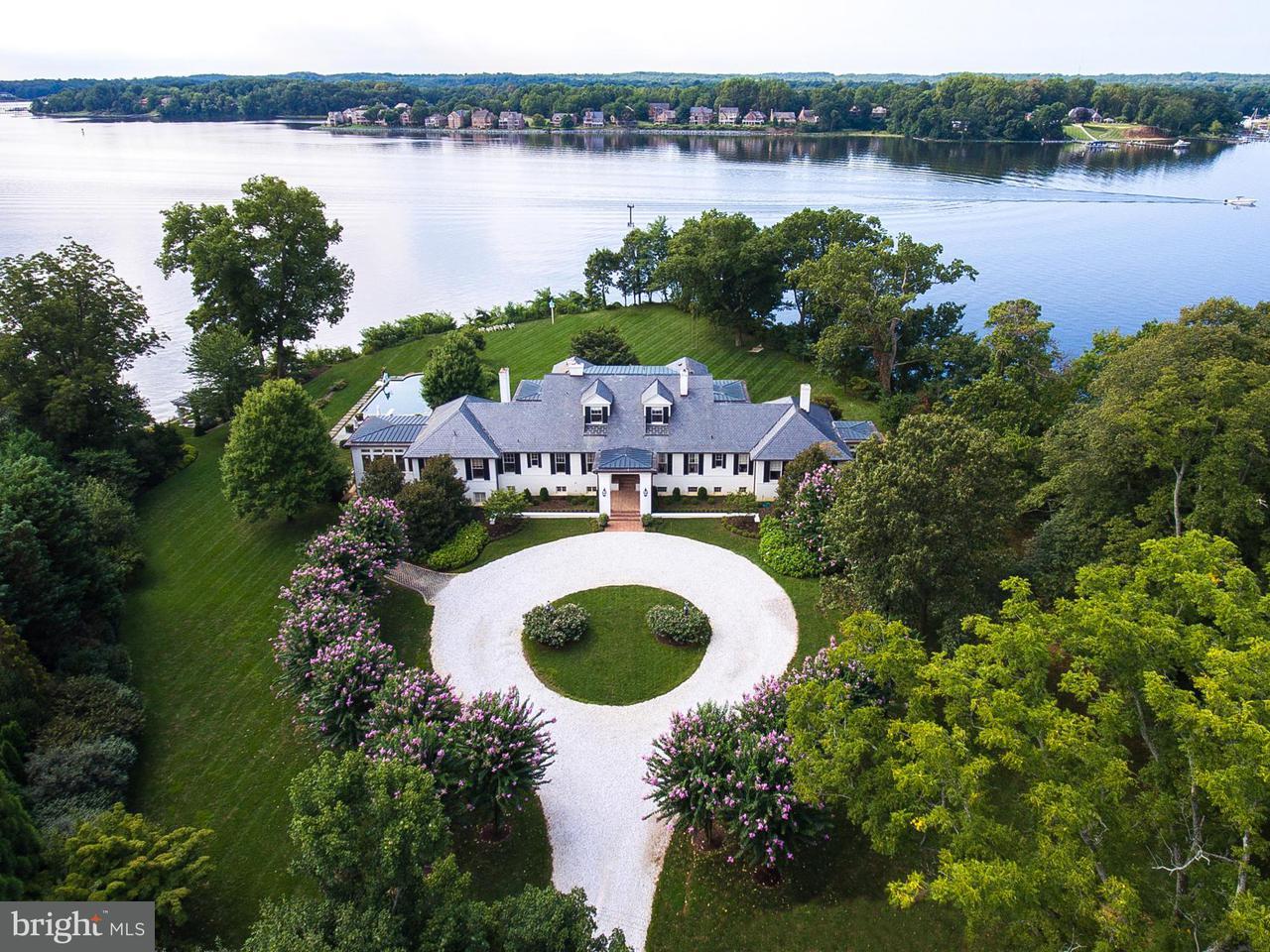 Casa Unifamiliar por un Venta en 36 SHADOW POINT Court 36 SHADOW POINT Court Edgewater, Maryland 21037 Estados Unidos