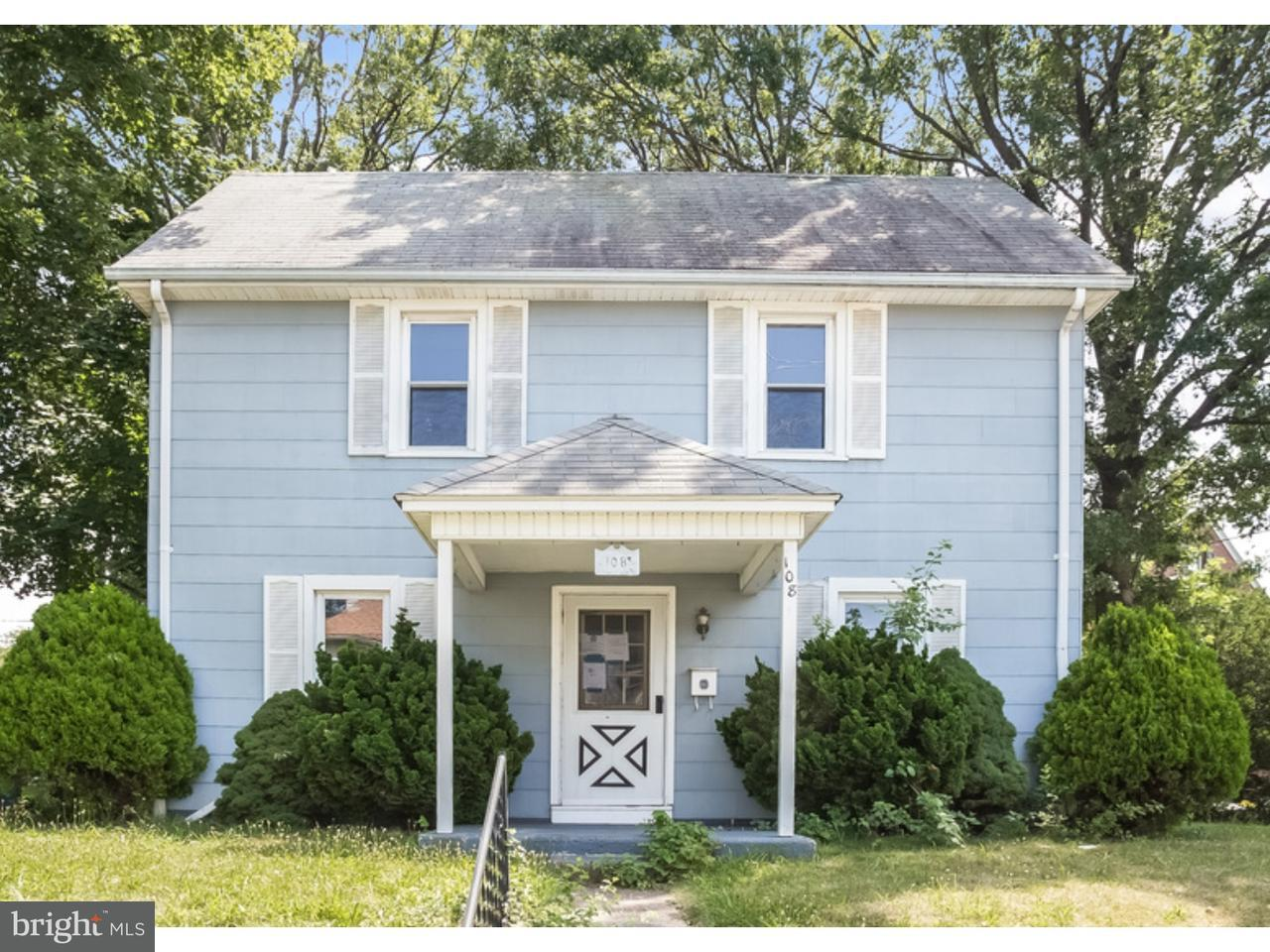 Single Family Home for Sale at 108 N WILSON Avenue Brooklawn, New Jersey 08030 United States
