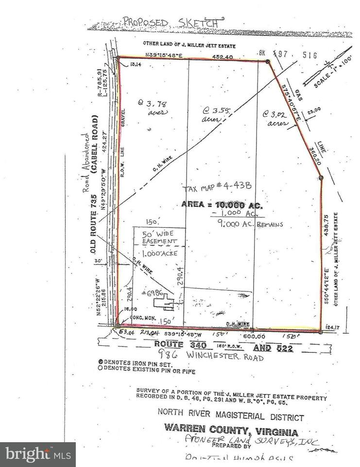 Land for Sale at 6986 Winchester Road 6986 Winchester Road Front Royal, Virginia 22630 United States