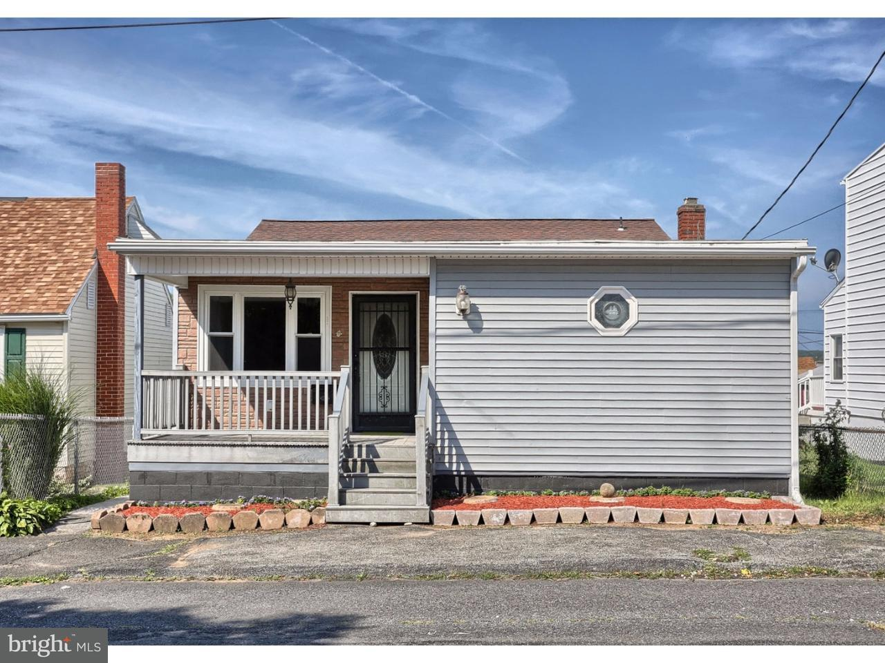 Частный односемейный дом для того Продажа на 144 S WYLAM Street Frackville, Пенсильвания 17931 Соединенные Штаты