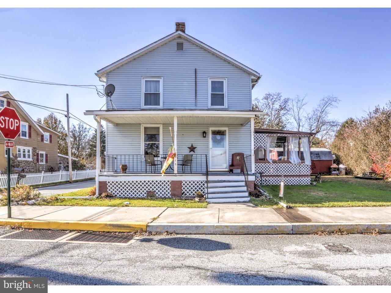 Maison unifamiliale pour l Vente à 216 CHESTER Street Atglen, Pennsylvanie 19310 États-Unis