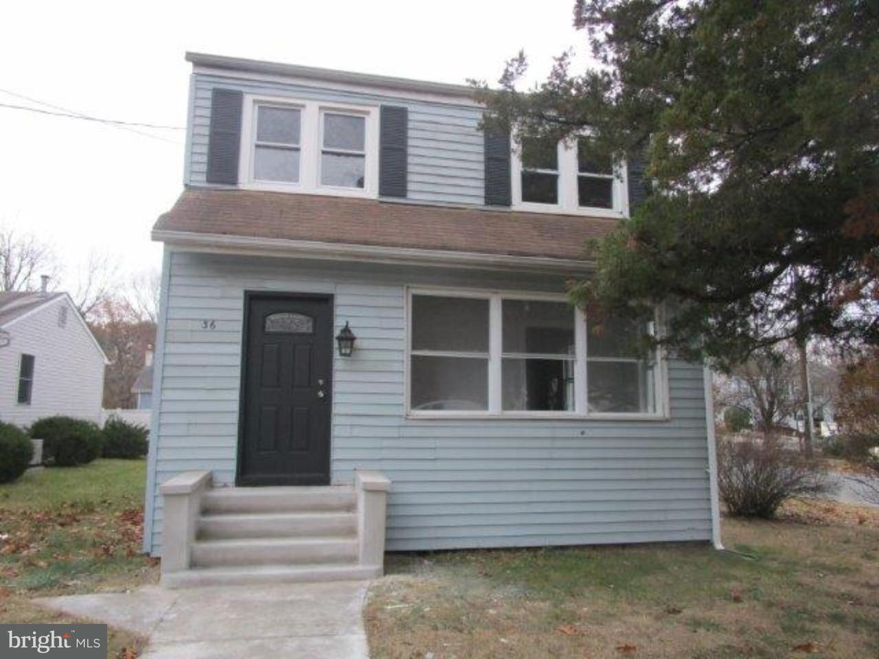 Частный односемейный дом для того Продажа на 36 GLOUCESTER Avenue Camden, Нью-Джерси 08045 Соединенные Штаты