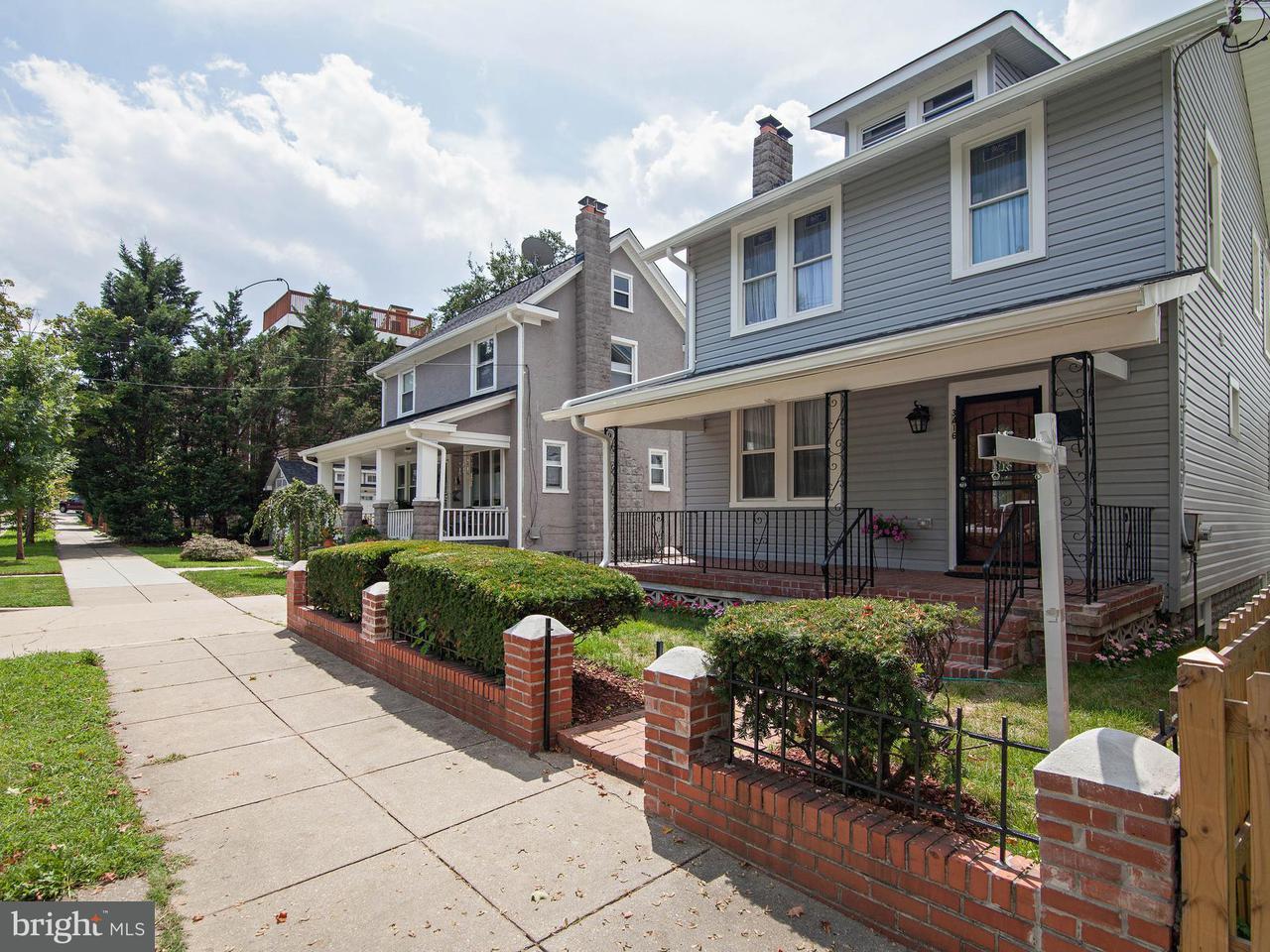 Частный односемейный дом для того Продажа на 3416 24TH ST NE 3416 24TH ST NE Washington, Округ Колумбия 20018 Соединенные Штаты