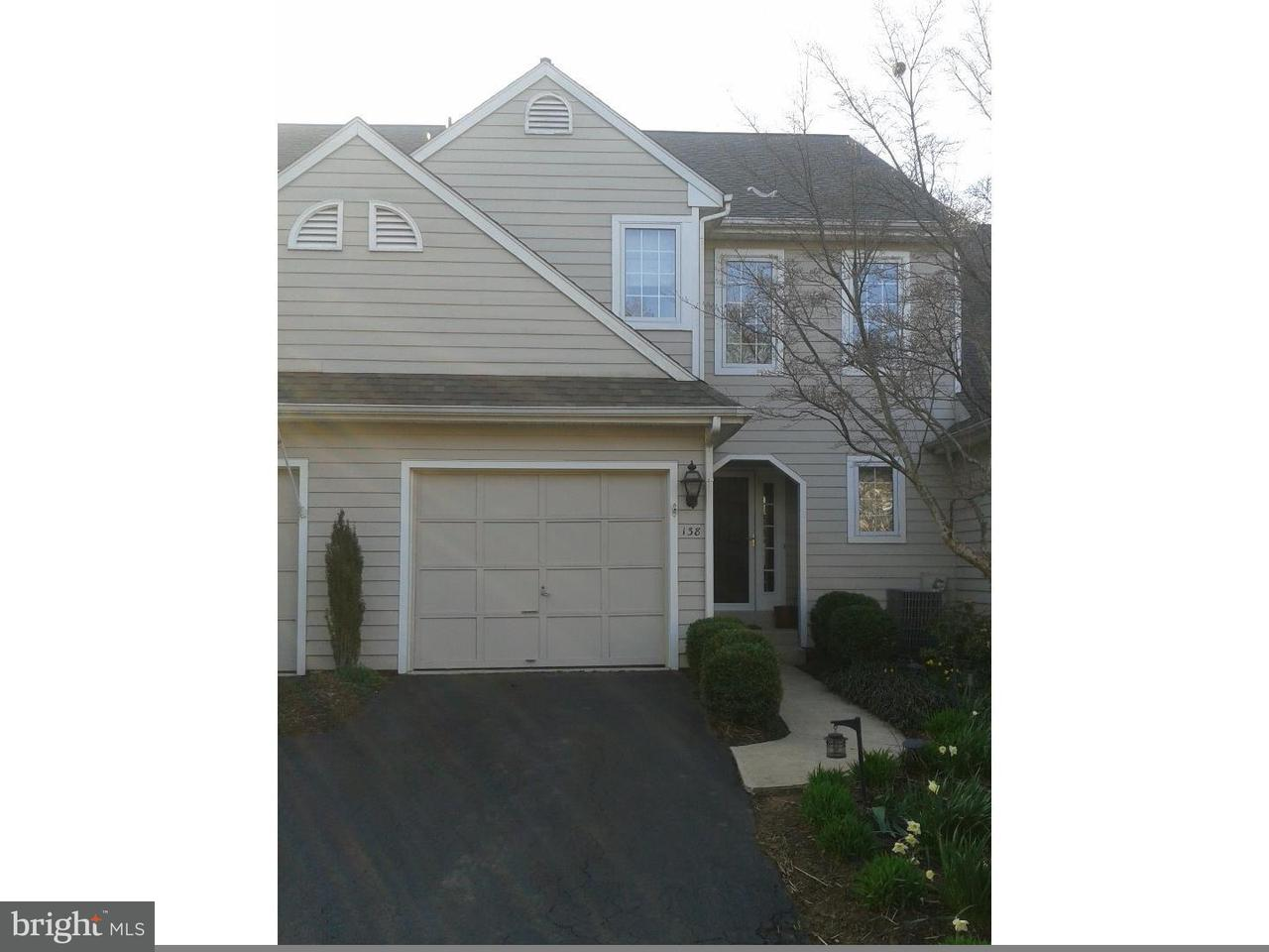 Townhouse for Rent at 138 N VILLAGE Lane Chadds Ford, Pennsylvania 19317 United States