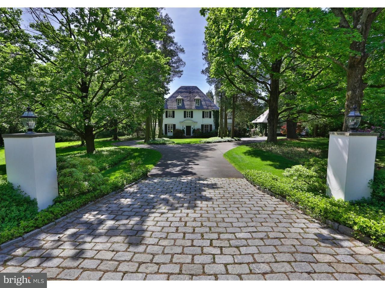 Частный односемейный дом для того Продажа на 2151 WASHINGTON Lane Huntingdon Valley, Пенсильвания 19006 Соединенные Штаты