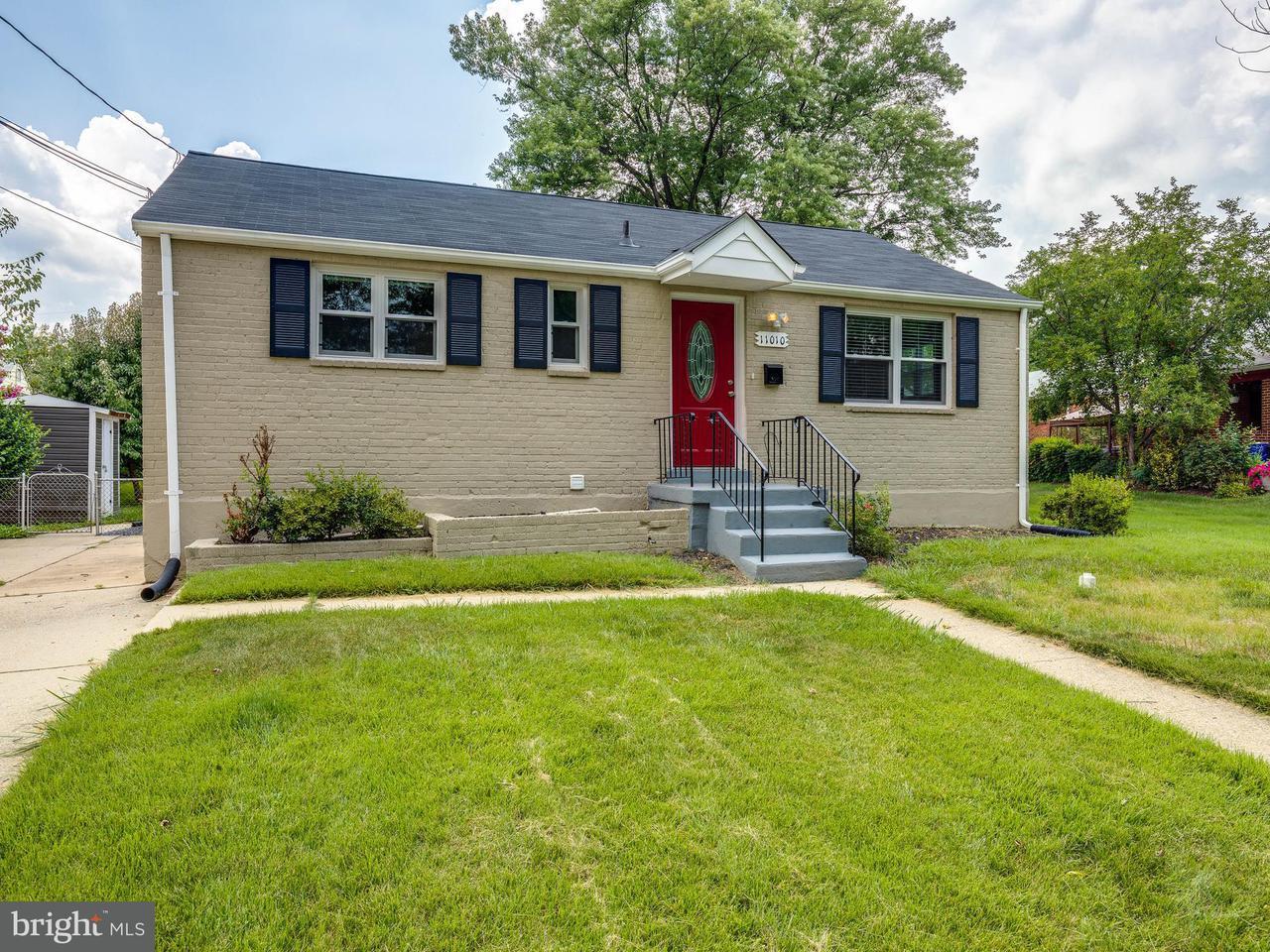Casa Unifamiliar por un Venta en 11010 BUCKNELL Drive 11010 BUCKNELL Drive Wheaton, Maryland 20902 Estados Unidos