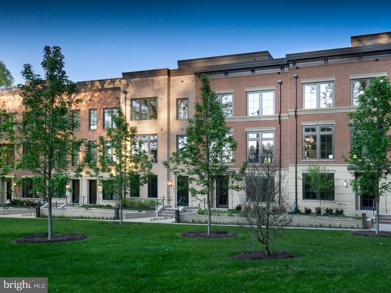 Maison accolée pour l Vente à 3605 CHEVY CHASE LAKE DR #BRADLEY MODEL 3605 CHEVY CHASE LAKE DR #BRADLEY MODEL Chevy Chase, Maryland 20815 États-Unis