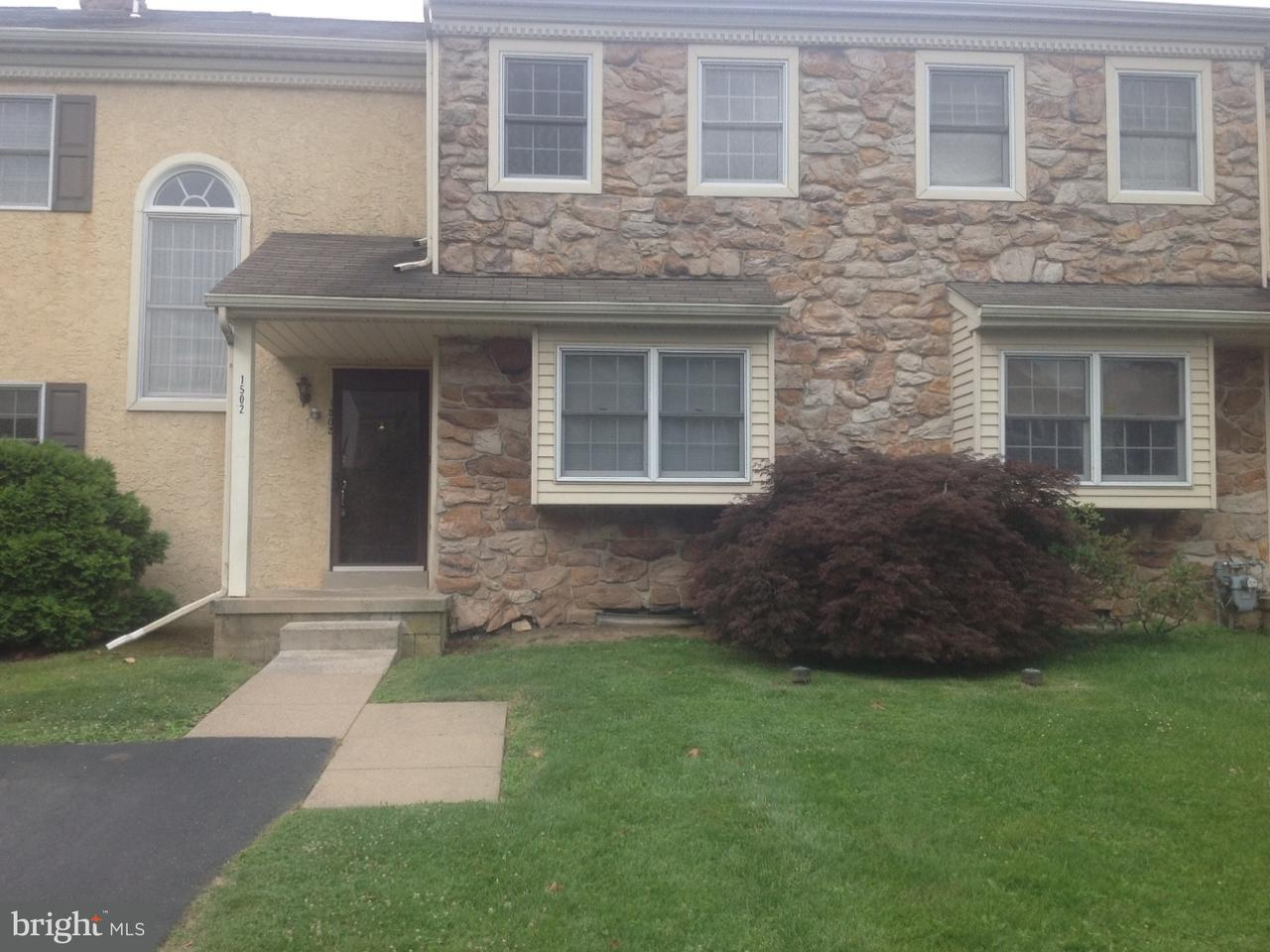 Townhouse for Rent at 1502 ISAACS Court Maple Glen, Pennsylvania 19002 United States