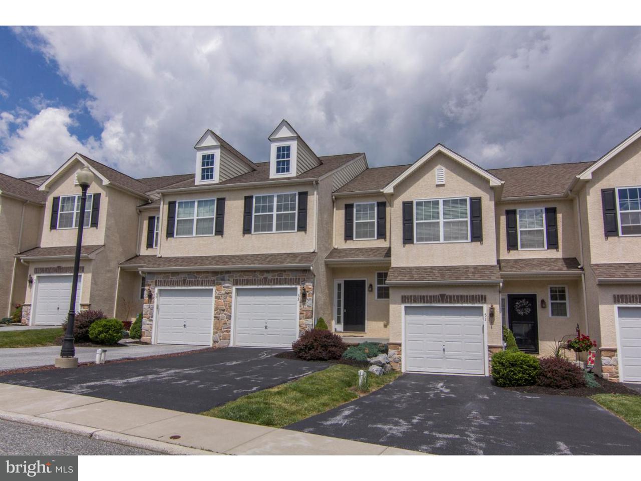 Maison accolée pour l à louer à 53 LUKENS MILL Drive Coatesville, Pennsylvanie 19320 États-Unis