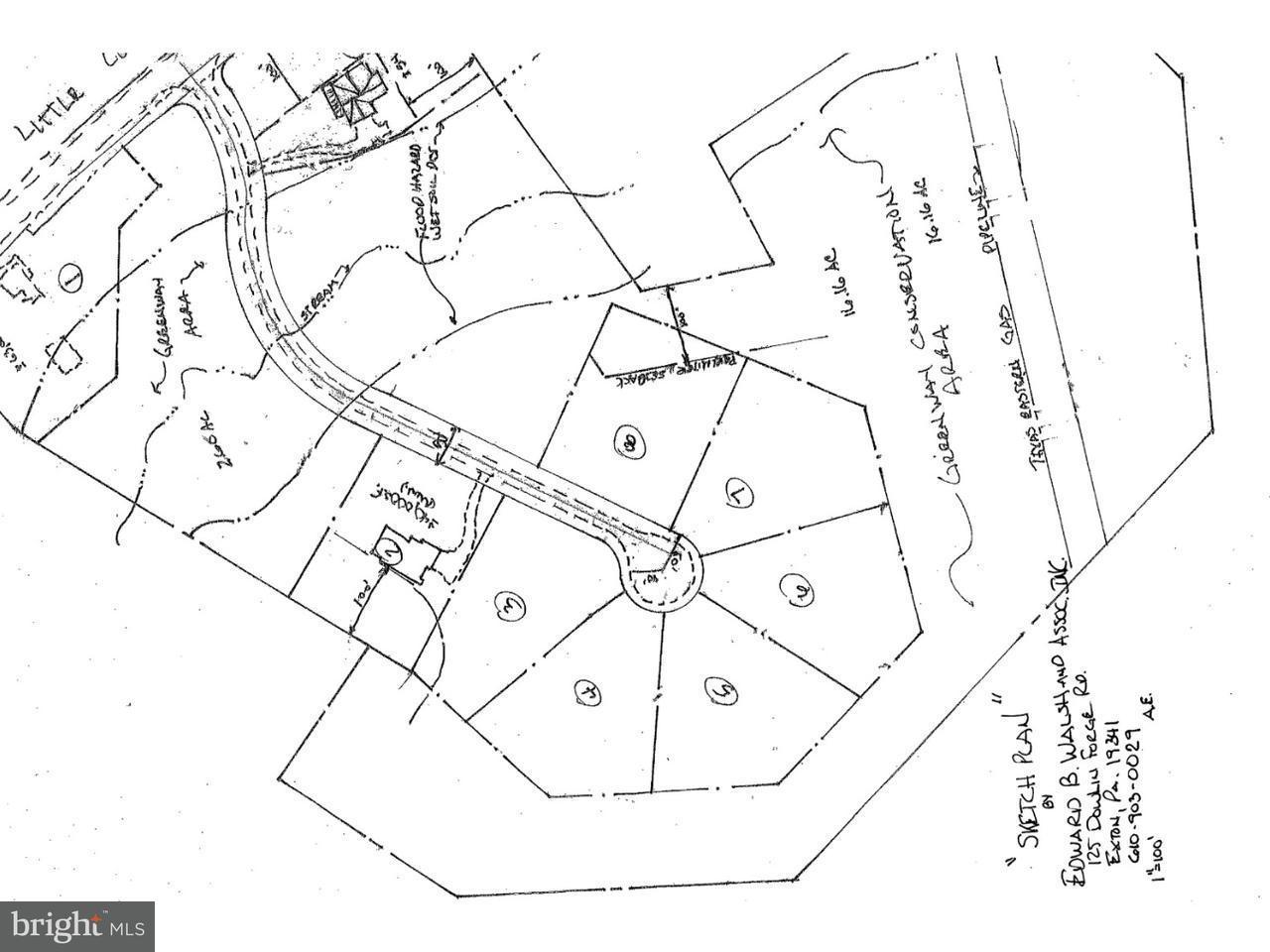 Casa Unifamiliar por un Venta en 1101 LITTLE CONESTOGA Road Downingtown, Pennsylvania 19343 Estados Unidos