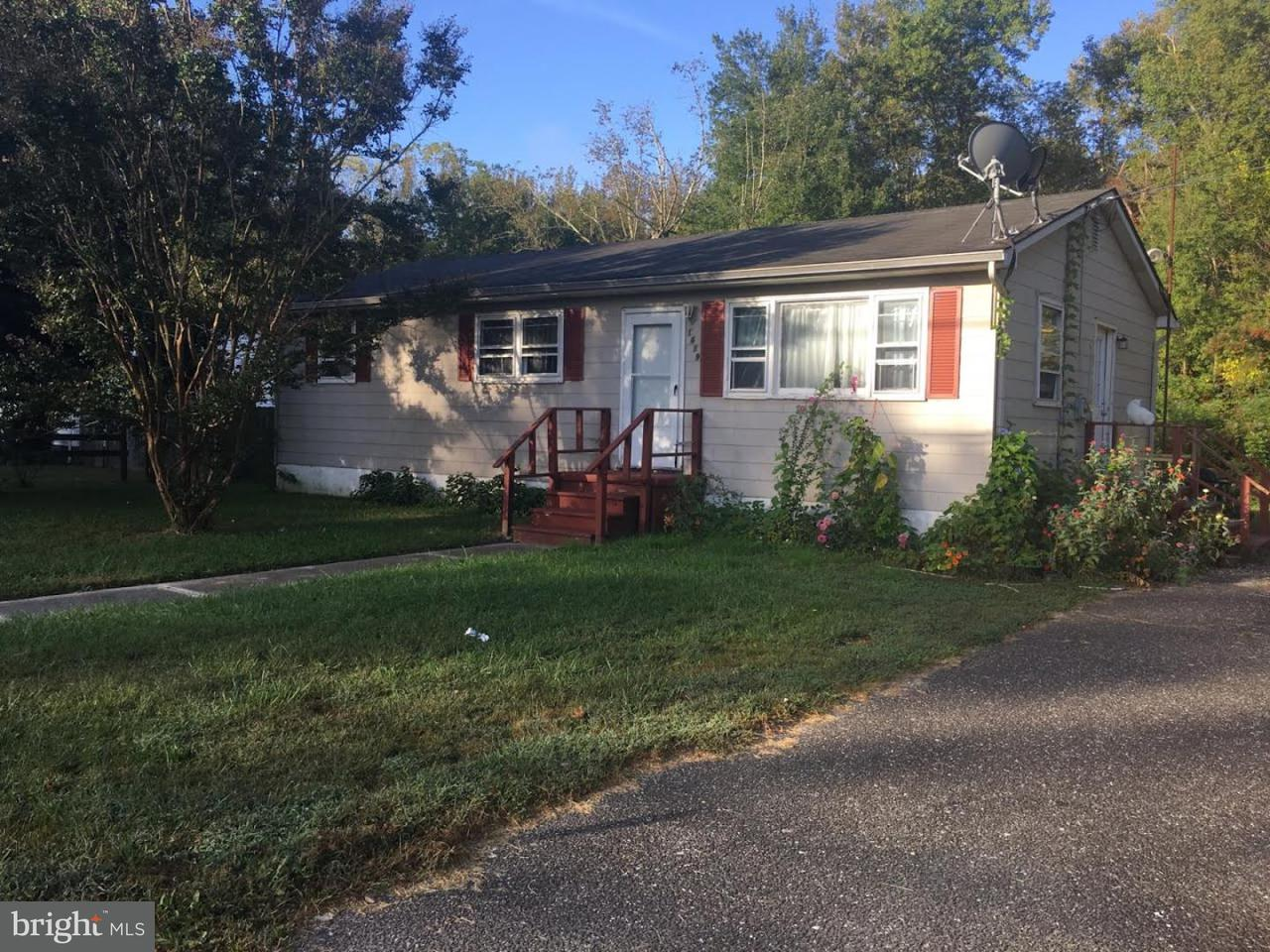 Single Family Home for Rent at 1619 NORTH Avenue Port Norris, New Jersey 08349 United States