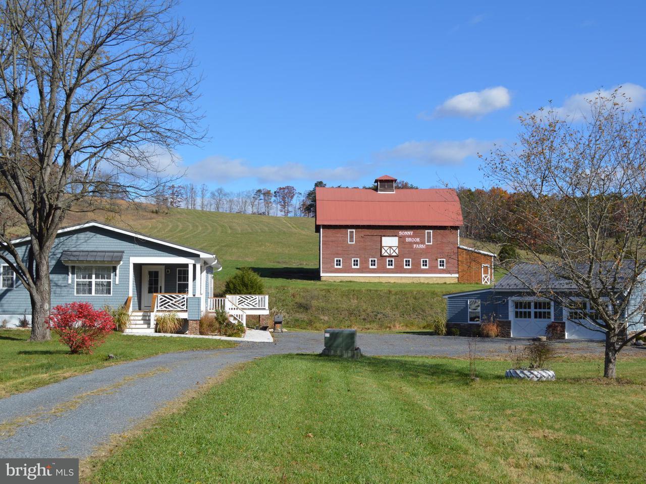 農場 為 出售 在 8783 FRANKFORT HWY 8783 FRANKFORT HWY Fort Ashby, 西佛吉尼亞州 26719 美國