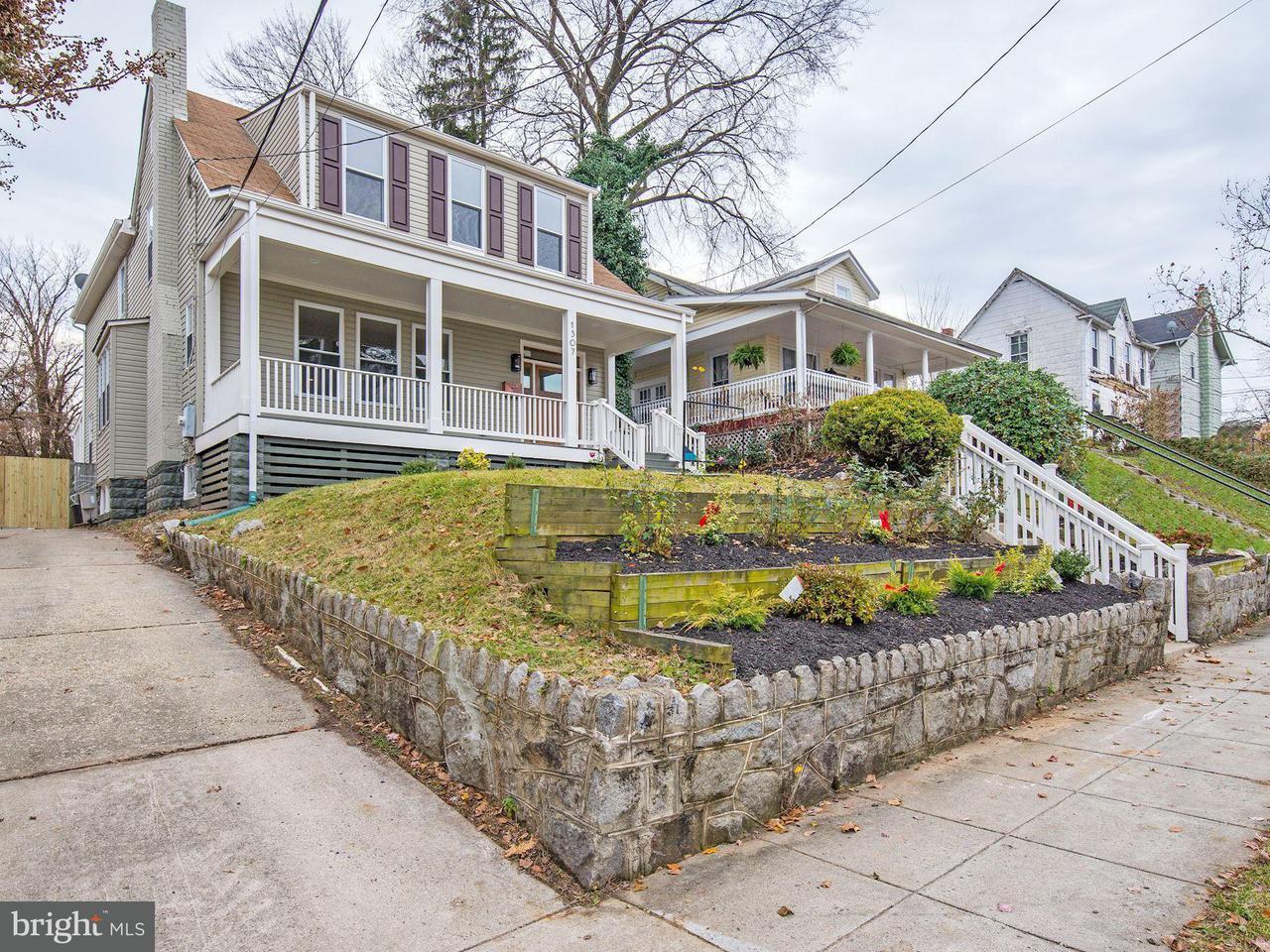 独户住宅 为 销售 在 1307 GIRARD ST NE 1307 GIRARD ST NE 华盛顿市, 哥伦比亚特区 20017 美国