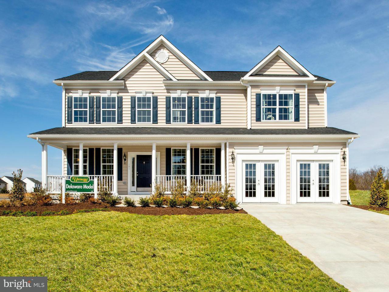 Частный односемейный дом для того Продажа на 101 HANOVERIAN Court 101 HANOVERIAN Court Stephens City, Виргиния 22655 Соединенные Штаты