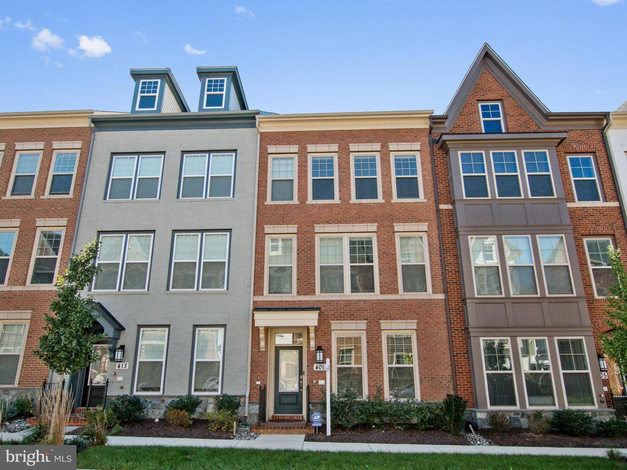 Townhouse for Sale at 409 HENDRIX Avenue 409 HENDRIX Avenue Gaithersburg, Maryland 20878 United States