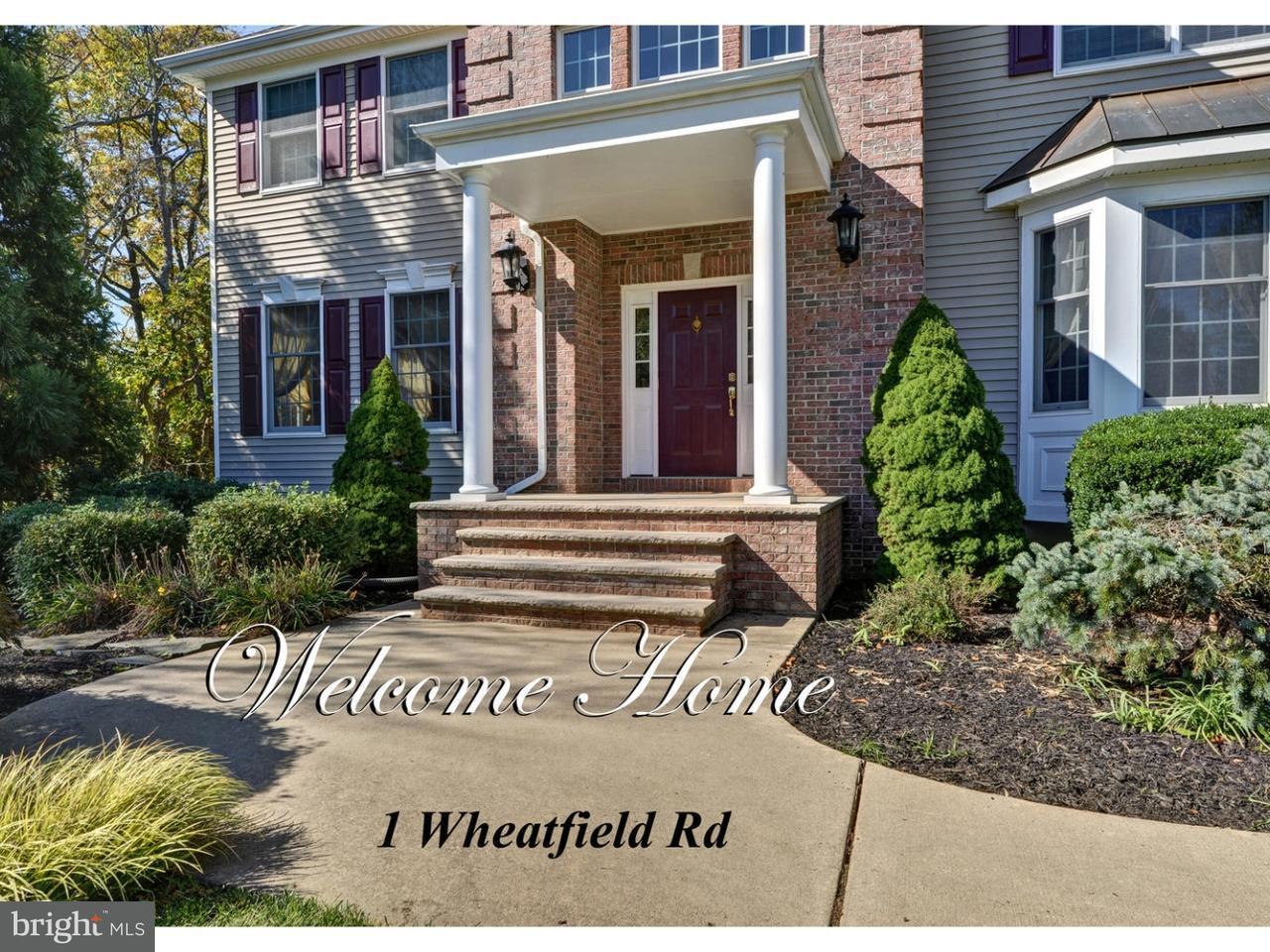 独户住宅 为 出租 在 1 WHEATFIELD Road 克兰伯里, 新泽西州 08512 美国在/周边: Cranbury Township